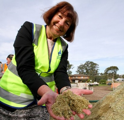 iQ Renew's Recycled Glass Sand Product Driving Innovation on the Central Coast